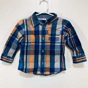 Old Navy | Toddler Boys Plaid Button Up Shirt